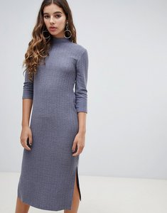 Read more about Jdy high neck midi dress - grey