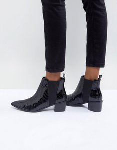 Read more about Miss kg sharpe heeled boots - black