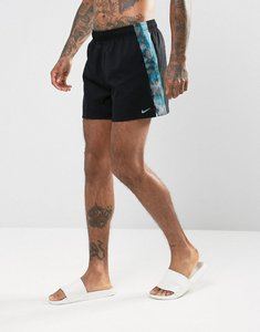 Read more about Nike spliced super short swim shorts in black ness7448001 - black