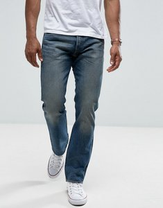 Read more about Levis jeans 501 straight fit rough morning wash - blue