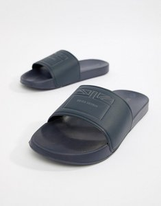Read more about Ben sherman flag slider flip flops - blue