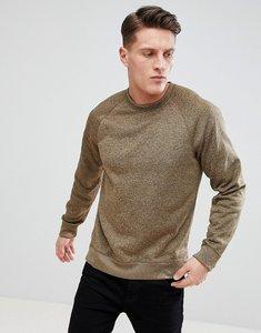Read more about Abercrombie fitch sports fleece crew neck sweatshirt in light khaki - khaki