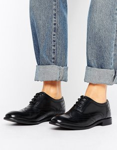 Read more about H by hudson leather brogues - black leather