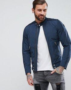 Read more about Diesel j-quad nylon biker jacket - navy 81e