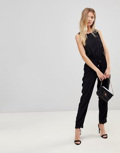 Read more about Ted baker sippy scalloped jumpsuit - black