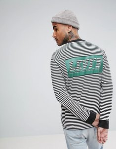 Read more about Levis skateboarding stripe long sleeve t-shirt with back print - green