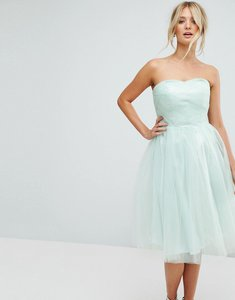 Read more about Hell bunny bandeau tulle dress - mint