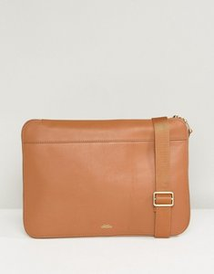 Read more about Knomo mason powered leather clutch bag - caramel