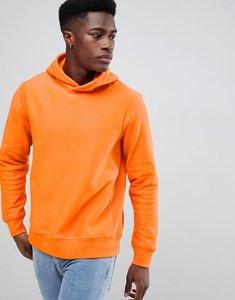 Read more about Weekday sol melange hoodie - orange