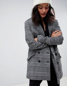 Read more about Asos design slim coat in check - multi