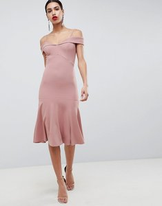 Read more about Club l bardot fit flare dress - pink