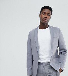 Read more about Noak skinny jersey blazer - grey