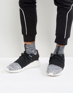 Read more about Adidas originals tubular doom primeknit trainers in grey by3550 - grey