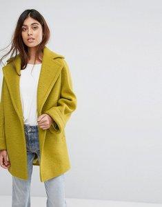 Read more about Helene berman wool blend yummy jacket - citrus yellow