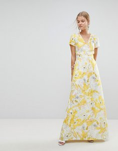 Read more about Max co floral maxi dress - ivory