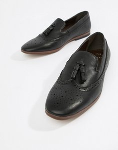 6abedcc18d48f7 Read more about New look faux leather loafers with embossed detail in black  - black