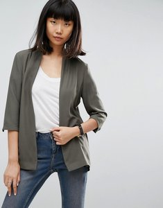 Read more about Asos soft chuck on blazer - khaki