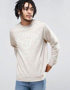 Read more about Esprit crew neck sweatshirt with san fran print - 260 grey