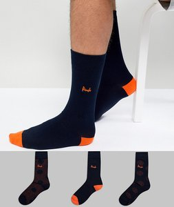 Read more about Pringle hawick socks 3 pack - navy