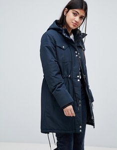 Read more about Y a s utility parka coat - carbon