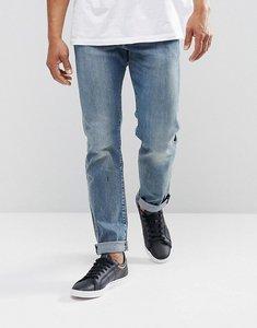 Read more about Levis 502 regular taper fit jeans dennis light wash - dennis