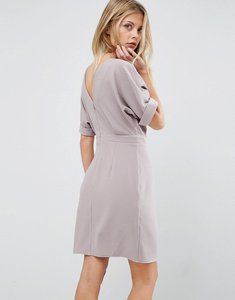 Read more about Asos mini wiggle dress - grey