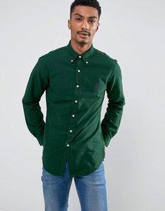Read more about Polo ralph lauren slim fit shirt garment dye buttondown in dark green - northwest pine