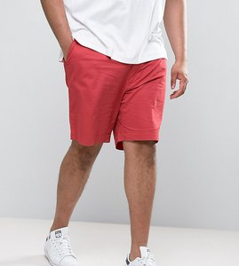 Read more about Polo ralph lauren big tall chino shorts stretch twill in red - desert red
