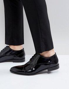 Read more about Kg by kurt geiger high shine toe cap shoes - black