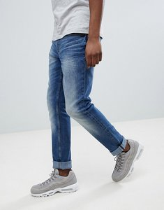 Read more about Blend slim fit distressed jeans blue - dusty blue wash