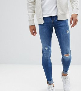 Read more about Blend tall flurry mid wash extreme skinny jeans - mid wash 3