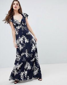 Read more about French connection floral print maxi dress - nocturnal