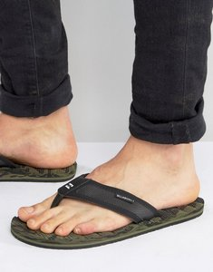 Read more about Billabong spirit camo flip flops - green