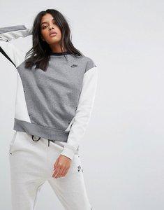 Read more about Nike tech fleece sweatshirt - carbon heather light