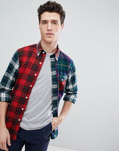 Read more about Polo ralph lauren multi check regular fit twill shirt in red green - fun shirt