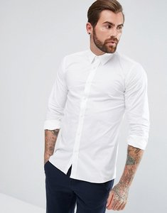 Read more about Hugo elisha extra slim fit stretch poplin shirt in white - white