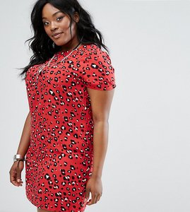Read more about Alice you leopard shift dress - multi