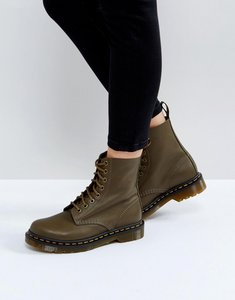 Read more about Dr martens pascal khaki 8 eye boots - khaki virginia