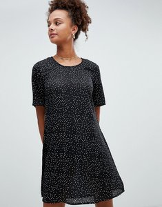 Read more about Glamorous polka dot shift dress - black dot