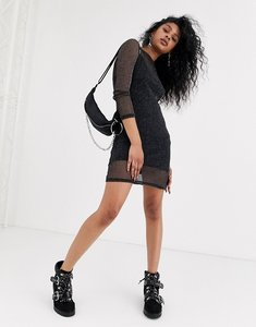 Read more about Noisy may long sleeve mesh dress