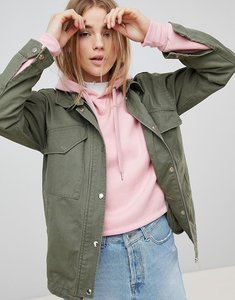 Read more about Pimkie lightweight utility jacket - green