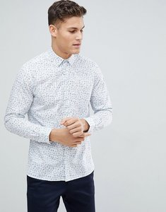 Read more about French connection floral slim fit shirt - multi