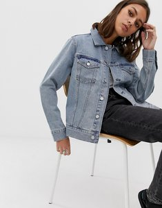 Read more about Weekday single trucker jacket - spring blue