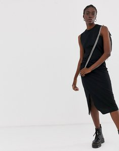 Read more about Cheap monday yell midi dress with side slit