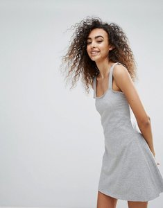Read more about Brave soul mila a line dress - grey