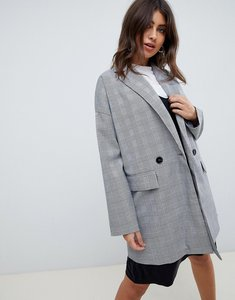 Read more about Vero moda 80 s boyfriend blazer - check