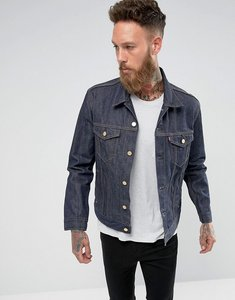 Read more about Levis 50th anniversary trucker jacket gold stitch selvedge - navy