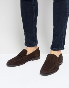 Read more about Kg by kurt geiger keswick penny loafers - brown