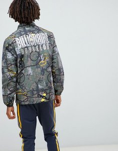 Read more about Billionaire boys club climbing camo coach jacket in green - green