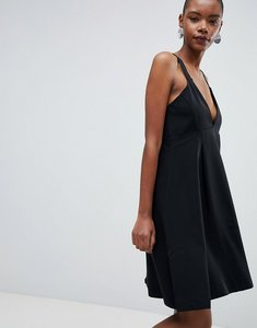 Read more about Selected kassia a-line midi dress - black
